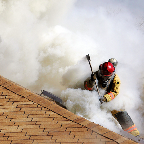 How a house fire impacts the environment