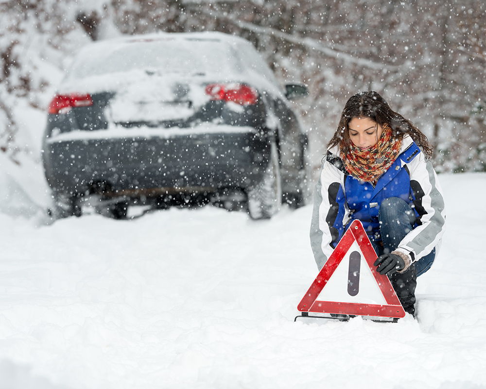 Road Rules 101: What to do if you're caught in a snowstorm