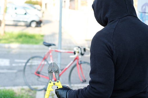 Record your bicycle's ID in case it's stolen